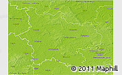 Physical 3D Map of Elbe-Elster