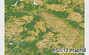 Satellite 3D Map of Märkisch-Oderland