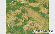 Satellite Map of Märkisch-Oderland