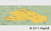 Savanna Style Panoramic Map of Märkisch-Oderland