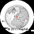 Outline Map of Oberspreewald-Lausitz