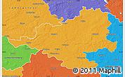 Political Map of Prignitz