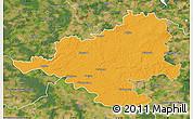 Political Map of Prignitz, satellite outside