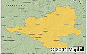 Savanna Style Map of Prignitz