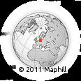 Outline Map of Prignitz