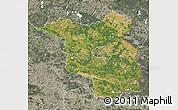 Satellite Map of Brandenburg, semi-desaturated