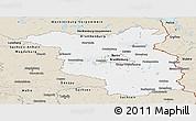 Classic Style Panoramic Map of Brandenburg