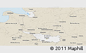 Classic Style Panoramic Map of Bremen