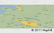Savanna Style Panoramic Map of Bremen