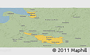 Savanna Style Panoramic Map of Bremen