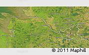 Satellite 3D Map of Hamburg