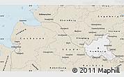 Classic Style Map of Hamburg