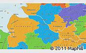 Political Map of Hamburg