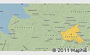 Savanna Style Map of Hamburg