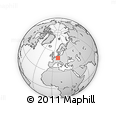 Outline Map of Wetteraukreis