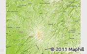 Physical Map of Vogelsbergkreis
