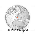 Outline Map of Vogelsbergkreis