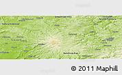 Physical Panoramic Map of Vogelsbergkreis