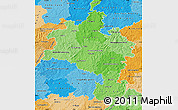 Political Shades Map of Kassel