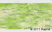 Physical Panoramic Map of Kassel