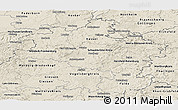 Shaded Relief Panoramic Map of Kassel