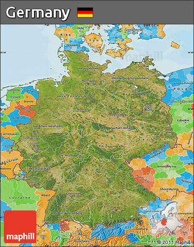 free satellite map of germany, political outside Satellite Map Of Germany satellite map of germany, political outside satellite map of germany