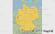 Savanna Style Map of Germany