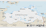 Classic Style 3D Map of Mecklenburg-Vorpommern