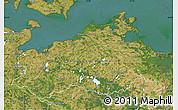 Satellite Map of Mecklenburg-Vorpommern