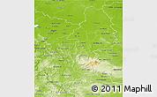 Physical 3D Map of Braunschweig