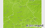 Physical 3D Map of Gifhorn