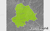 Physical Map of Gifhorn, desaturated