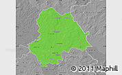 Political Map of Gifhorn, desaturated