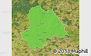 Political Map of Gifhorn, satellite outside