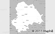 Gray Simple Map of Gifhorn