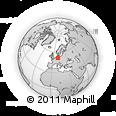 Outline Map of Goslar