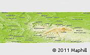 Physical Panoramic Map of Goslar