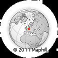 Outline Map of Göttingen
