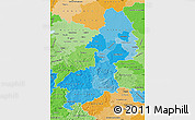 Political Shades Map of Braunschweig