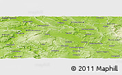 Physical Panoramic Map of Northeim