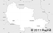 Silver Style Simple Map of Osterode