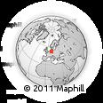 Outline Map of Braunschweig