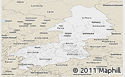 Classic Style Panoramic Map of Braunschweig