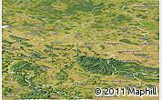 Satellite Panoramic Map of Braunschweig