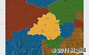 Political Map of Peine, darken