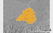 Political Map of Peine, desaturated