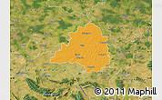 Political Map of Peine, satellite outside