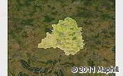 Satellite Map of Peine, darken