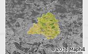 Satellite Map of Peine, desaturated
