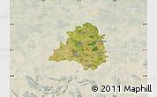 Satellite Map of Peine, lighten